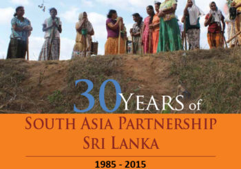 30years of South Asia Partnership Sri Lanka