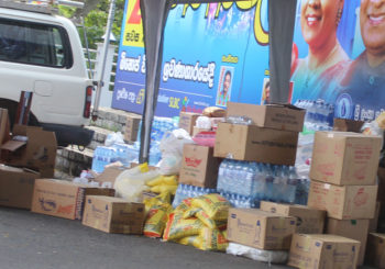 Relief Provision to the Flood Victims