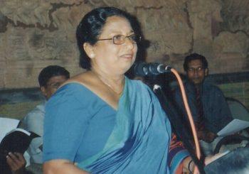 Commemoration  of 7th death anniversary of Dr. (Mrs)  Padma Ratnayake